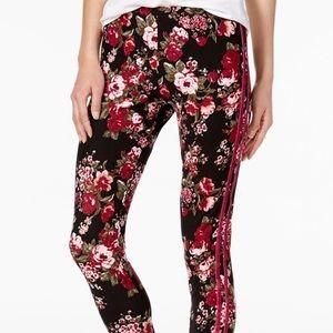 NWT Ultra Flirt Floral Leggings - M